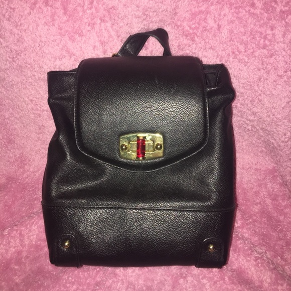 5aed91f95b5a Merona Faux Leather Backpack Purse